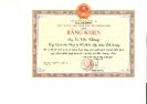 Chủ tịch UBND tỉnh Quảng Nam tặng Bằng khen cho Tổng Giám đốc Tập Đoàn Đất Quảng năm 2017
